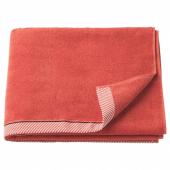 ВИКФЬЕРД Банное полотенце, красный, 70x140 см