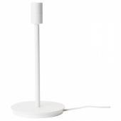 СКАФТЕТ Основание настольной лампы, белый, 30 см