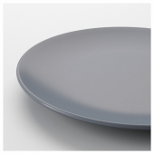 ДИНЕРА Тарелка десертная, серо-синий, 20 см