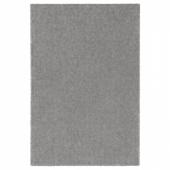 СТОЭНСЕ Ковер, короткий ворс, классический серый, 200x300 см