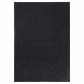 ТЮВЕЛЬСЕ Ковер, короткий ворс, темно-серый, 170x240 см