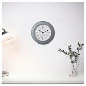 СКАЙРОН Настенные часы, серый, 30 см