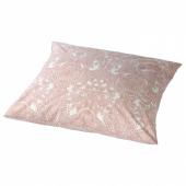 ЙЭТТЕВАЛЛМО Наволочка, белый, розовый, 70x70 см