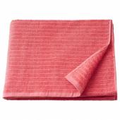 ВОГШЁН Банное полотенце, светло-красный, 70x140 см