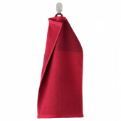 ХИМЛЕОН Полотенце, темно-красный, меланж, 30x50 см