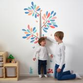 КИННАРЕД Декоративные наклейки, ростомер-дерево, 160 см