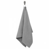 КОРНАН Полотенце, серый, 50x100 см