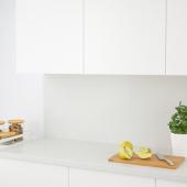 КЛИНГСТА Настенная панель под заказ, светло-серый под минерал, акрил, 1 м²x1.2 см