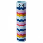 ИЛЛБАТТИНГ Декоративная коробка, разноцветный, металлический, 6x25 см