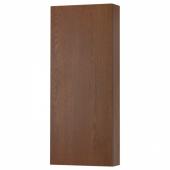 ГОДМОРГОН Навесной шкаф с 1 дверцей, под коричневый мореный ясень, 40x14x96 см