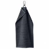 ФЛОДАРЕН Полотенце, темно-серый, 30x50 см
