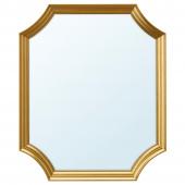 СВАНСЕЛЕ Зеркало, золотой, 53x63 см