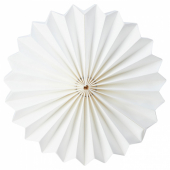 СТРОЛА Абажур, оригами, белый, 34 см