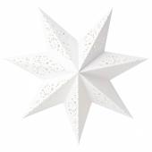 СТРОЛА Абажур, кружево, белый, 48 см