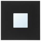 МАЛЬМА Зеркало, черный, 26x26 см