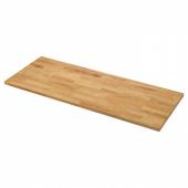 КАРЛБИ Столешница, дуб, шпон, 186x3.8 см