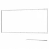 ЛИЗЕКИЛЬ Планка для настенн панели, алюминий, 120 см