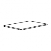 ХЭЛПА Полка, белый, 80x55 см