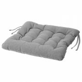 ВИППЭРТ Подушка на стул, серый, 38x38x6.5 см