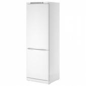 НЕДИСАД Холодильник/ морозильник, белый, 233/85 л