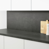 СИББАРП Настенная панель под заказ, под бетон, ламинат, 1 м²x1.3 см