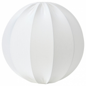 РЕГНСКУР Абажур для подвесн светильника, круглой формы белый, 50 см