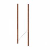 ТУРД Стойка для садового стеллажа, коричневая морилка, 161 см 2 шт