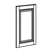 БУДБИН Дверь, темно-зеленый, 40x60 см