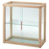 МАРКЕРАД Шкаф-витрина, сосна, 80x80 см