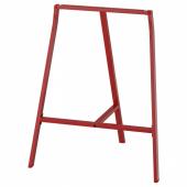 ЛЕРБЕРГ Опора для стола, красный, 70x60 см