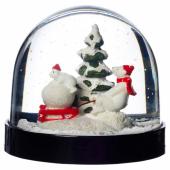ВИНТЕР 2020 Снежный шар, животные, 8 см