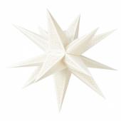 СТРОЛА Абажур, 3D, точечный белый, 67 см