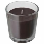 СИНЛИГ Ароматическая свеча в стакане, Перец, черный, 7.5 см