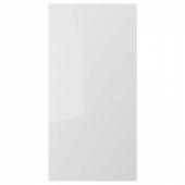 РИНГУЛЬТ Дверь, глянцевый светло-серый, 60x120 см