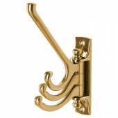 КЭМПИГ Тройной вращающийся крючок, желтая медь