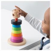 МУЛА Пирамидка, разноцветный, бук