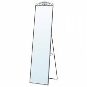 КАРМСУНД Зеркало напольное, черный, 40x167 см