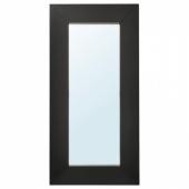 МОНГСТАД Зеркало, черно-коричневый, 94x190 см