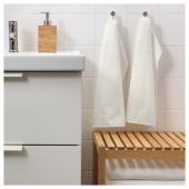 ГЭРЕН Полотенце, белый, 30x50 см