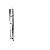 ИВАР Боковая стойка, 30x226 см