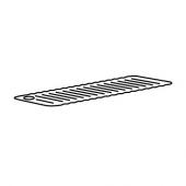 ДОППА Коврик в ванну, светло-серый, 33x84 см