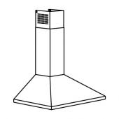 РЮТМИСК Колпак вытяжного шкафа стенн крепл, нержав сталь, 60 см