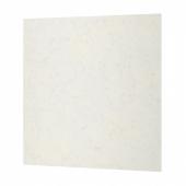 РОХУЛЬТ Настенная панель под заказ, белый под мрамор, кварц, 1 м²x1.2 см