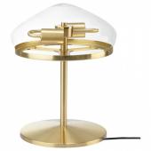 ОТЕРСКЕН Лампа настольная, прозрачное стекло