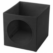 ЛУРВИГ Домик для кошки, черный, 33x38x33 см