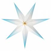 СТРОЛА Абажур, точечный синий, 70 см