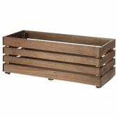 СТЭРНАНИС Ящик для цветов, для сада акация, 75x27 см