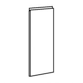 ВОКСТОРП Дверь, темно-серый, 40x80 см