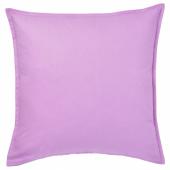 ГУРЛИ Чехол на подушку, светло-сиреневый, 50x50 см