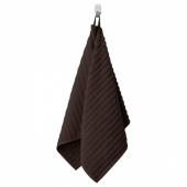 ФЛОДАРЕН Полотенце, темно-коричневый, 50x100 см